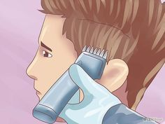 How to Give a 'Fade' Haircut to Males - I should try this since my husband is always complaining that I can't do a 'fade' cut.