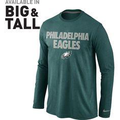 #Eagles Nike Foundation Long Sleeve T-Shirt $31.99
