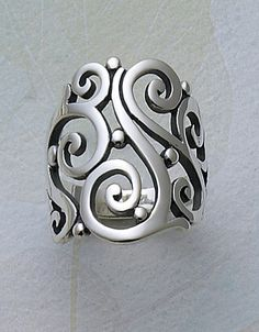 Open Sorrento Ring #jamesavery | You can see the Rest of the Outfit and my Comments on this board. - Gabrielle