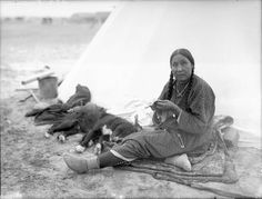 Blackfoot Indian Woman | Category:Blackfeet Indians -- Media Edit This Page