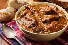 Roasted Red Pepper Beef Stew