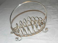 Antiques Atlas - Antique James Dixon Silver Basket Toast Rack