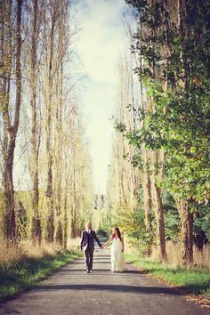 Katherine & James barefoot eco-friendly forest wedding   Offbeat Bride