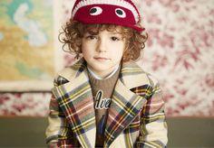 Classic tartan boyswear jacket from Gucci fall 2016