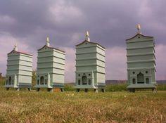 Stylish beehive designs