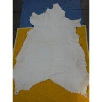 Weißes Hirschleder sämisch gegerbt - 1,49m²