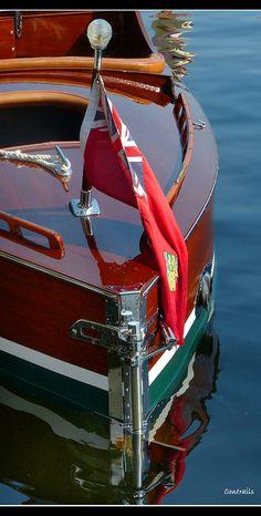 Ditchburn B-IV stern rudder...LLA/Lisa