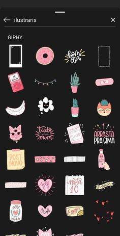 Cute instgram story sticker search ideas for gifs and giphy- инста Instagram Blog, Instagram Emoji, Instagram Editing Apps, Iphone Instagram, Instagram And Snapchat, Instagram Story Ideas, Friends Instagram, Snapchat Search, Instagram Baddie