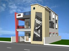 residential building elevation designs - Google Search
