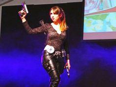 Lara Croft Tomb Raider #cosplay from Mantova #comics fair