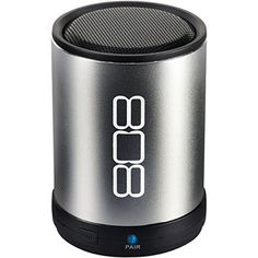 "808 Bluetooth(R) Portable Speaker (Silver) ""Product Category: Wireless Speakers/Bluetooth Speakers"". 808 Bluetooth(R) Portable Speaker (Silver) - Supports Bluetooth(R) ; - 3.5mm aux input; - 2W output; - Rechargeable lithium battery; - Includes USB charging cable & aux input cable; - Silver - Product Type: BLUETOOTH SPEAKERS WIRELESS SPEAKERS Part No: SP880SL."