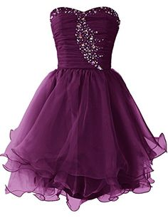 Dresstells Women's Short Prom Dresses Organza Homecoming Dress Grape Size 2 Dresstells http://www.amazon.com/dp/B00WSP0LQS/ref=cm_sw_r_pi_dp_SHJ9vb10WR4B0