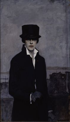 Romain Brooks - Self Portrait