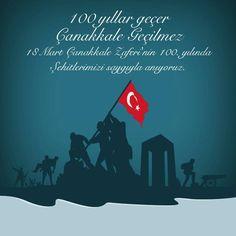 18 Mart Çanakkale Zaferi'nin 100. yılında şehitlerimizi saygıyla anıyoruz. #18Mart