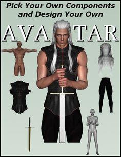 Avatar Creator: Create Custom Avatars with Daz Studio 4. Tutorial by Winterbrose. $19.95