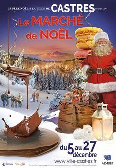 affiche Marche de Noël