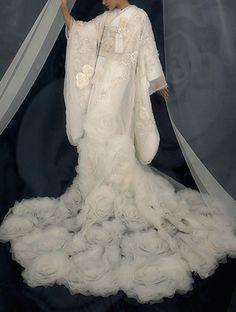 4601 (T):桂由美ウェディングドレス直営店
