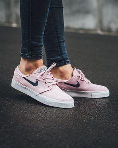 Trendy Sneakers 2017/ 2018 : NIKE SB Zoom Stefan Janoski Canvas Prism Pink/Obsidian (615957-641) KICKS-DA