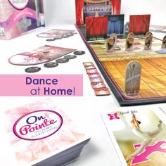 If you're missing your dance studio while at home, ballet class can now come to you....as a board game!  On Pointe follows the life of a dancer- from the barre to a star! Collect treasures and gems to score points, first to finish becomes Prima! #boardgame #ballet #onpointe #dancelife #gamesforgirls #balletgirls #dancemom Ballet Class, Ballet Girls, Dance Studio, Games For Girls, Dance Moms, Barre, Board Games, Dancer, Finding Yourself
