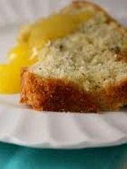 Warm Lavender Tea Cake with Homemade Lemon Curd Recipe