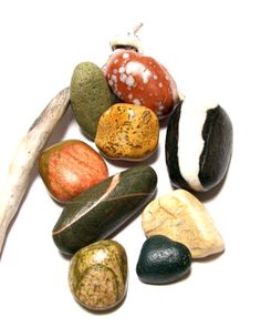 River Rocks Beach Pebble UNDRILLED Stones Craft by StoneMe