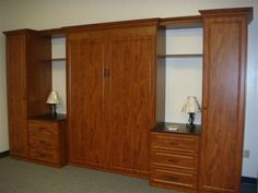 Wall Bed Finished In Chocolate Peartree   California Closet Projects    Pinterest   Chocolate