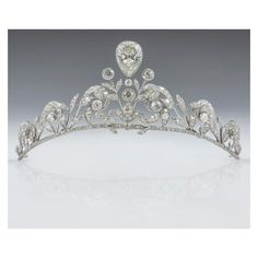 Tiaras and Crowns ❤ liked on Polyvore featuring accessories, hair accessories, crown hair accessories, crown tiara, jeweled hair accessories, tiara crown and jeweled crown