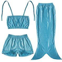 Girls 3PCs Swimmable Mermaid Tail Princess Bikini Bathing Costume Wear (6-7, Blue) EFE http://www.amazon.com/dp/B00S4AR81W/ref=cm_sw_r_pi_dp_0cqGvb1S4PW70