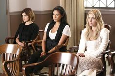 Pin for Later: These Little Liars Could Teach You a Lesson on Switching Up Your Style  But those quirky, casual pieces they rocked in high school? They've been replaced by polished and elevated ones.