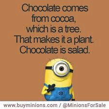 Yessssss!!!  I KNEW there was a reason Chocolate and I have had a life-long affair!