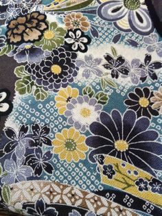 From my collection of chirimen fabrics.....v