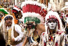 Las Mascaras de la Alborada 2011 #12  Danzante en el desfile de la Alborada, San Miguel de Allende, Guanajuato, Mexico