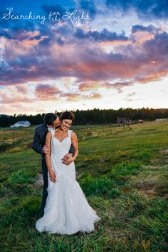 Evergreen Barn Wedding {Courtney & Kirby | Married} — Searching for the Light Photography