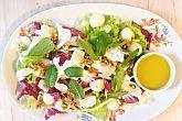 Salada refrescante de erva-doce, queijo de cabra e melão | BOA FORMA