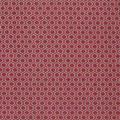 Warwick Fabrics : ZIRA, Colour CARDINAL