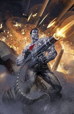 """BLOODSHOT AND H.A.R.D. CORPS #19 Written by CHRISTOS GAGE & JOSHUA DYSART Art by BART SEARS Cover by CLAYTON CRAIN """"GET SOME"""" – Part Two! Bloodshot and H.A.R.D. Corps fight for more than they bargained for!  When a routine rescue mission goes horribly wrong, Director Kozol is taken captive by a group of grizzled psiot mercenaries with a vital key to Bloodshot's past.  The team fight to save Kozol's life…and they don't even like him!  $3.99/T+/32 pgs. ON SALE FEBRUARY 19th!"""