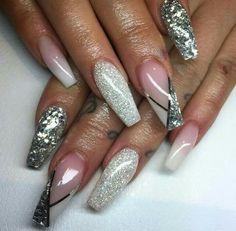 dolls come & let me slay those nails for u! by chinsbeautybar Diy Nail Designs, Nail Polish Designs, Acrylic Nail Designs, Nails Design, Classy Nails, Trendy Nails, Arabesque, Morphe, Tammy Nails