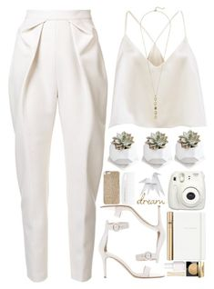 """#1022 Jody"" by blueberrylexie ❤ liked on Polyvore featuring Delpozo, Hermès, Fujifilm, Gianvito Rossi, Dolce&Gabbana, Bobbi Brown Cosmetics, Essie, Kate Spade, Michael Kors and Cole Haan"