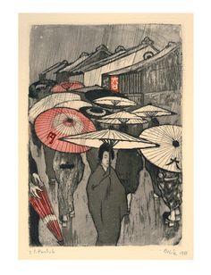 """Die Ausstellung """"Emil Orlik in Japan"""" im MKG Hamburg entpuppt sich als stilles Alltagsjuwel für Freunde des Japonismus."""