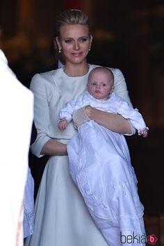 HSH Princess Charlene and Prince Jacques of Monaco 5/11/2015