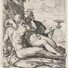 Hendrik Goltzius (1558 - 1617) was een Noord-Nederlands schilder, tekenaar, prentkunstenaar en uitgever. Opulentia en Honor