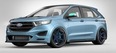 Ford bringing three Ford Edge concepts to 2015 SEMA Show