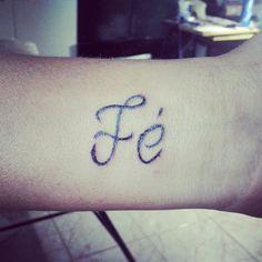 Tattoo Sirley  Fé .