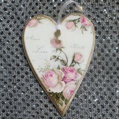 """Купить Подвеска-валентинка """"Во имя Любви"""" - подарки для влюбленных, валентинка, Декупаж, сердце"""