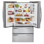 LG Electronics 30.3 cu. ft. French Door-in-Door Refrigerator in Stainless Steel-LMX30995ST - The Home Depot