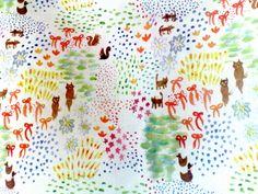 Cuckoo Watercolor Tote Bag. $35.00, via Etsy.