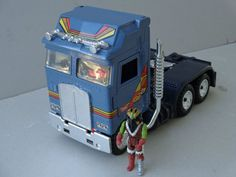 Vintage 80's MASK Bulldog Buris Semi Truck By Hasbro 1987 Toy Transforms #Hasbro