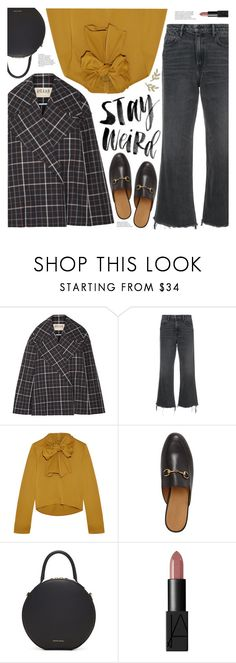 """""""stay weird"""" by valentino-lover ❤ liked on Polyvore featuring A.W.A.K.E., Alexander Wang, Isabel Marant, Gucci, Mansur Gavriel, NARS Cosmetics and Anne Sisteron"""