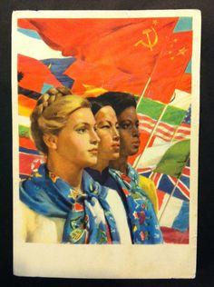 European Soviet era postcards, Kabinett in Kyneton
