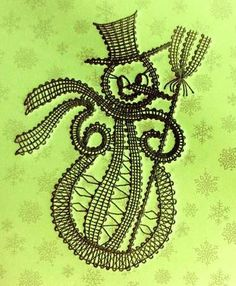 Bobbin Lace Patterns, Crochet Angels, Lacemaking, Lace Heart, Point Lace, Lace Jewelry, Lace Design, Lace Knitting, String Art